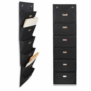 Wallniture Archivo Hanging File Folder Holder Document Organizer With Label