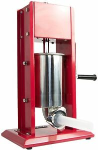 Vivo Sausage Stuffer Vertical Two 2 Speed Stainless Steel 3l 7lb 5 7 Pound