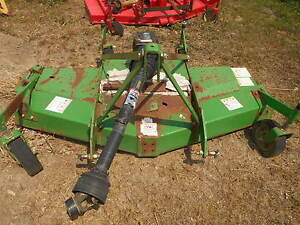 John Deere Frontier 3 Point Mounted Finishing Mower Gm1072s 6ft