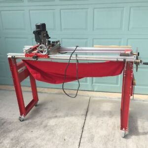 Legacy Woodworking 900 Ornamental Router Milling Machine