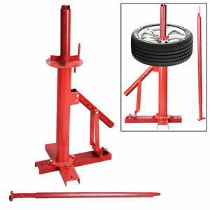 Manual Portable Hand Tire Changer Bead Breaker Diy Tool Mounting Home Shop Auto