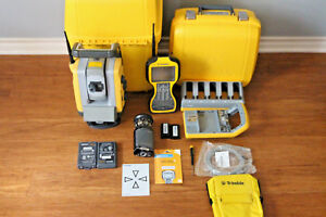Trimble Sps930 Dr300 1 Robotic Survey Total Station W Tsc3 Scs Mt1000 Prism