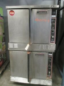 Garland Master 200 Double Stack Gas Heated Convection Oven Propane Cng 500 f