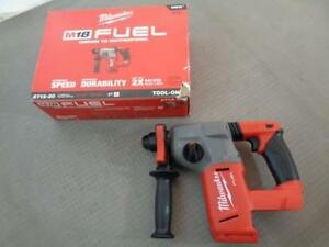 Milwaukee 2712 20 Fuel Brushless 1 Rotary Hammer Tool Only In Original Box