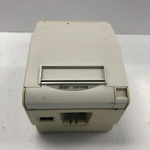 Star Micronics Tsp700ii Pos Point Of Sale Thermal Receipt Parallel Printer White
