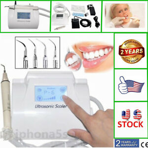 Dental Touchscreen Ultrasonic Piezo Scaler Scaling With Handpiece Fit Ems 2018