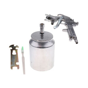 W77 Air Compressor Spray Gun Painting Tool Nozzle Dia 3mm For Car Funiture
