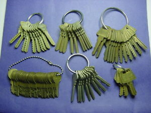 6 Sets Of Keys Depth Space Plus Others Locksmith