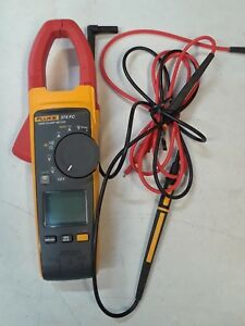 Fluke 374 Fc True Rms Clamp Meter With Test Leads Fast Shipping
