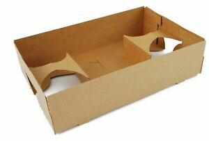 Southern Champion Tray 0120 Kraft Paperboard 4 Corner Pop Up Food And Drink