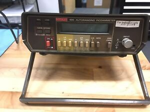 Keithley 485 Autoranging Picoammeter Powers Up As Is