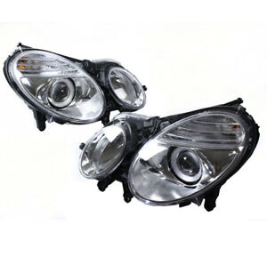 For 03 09 Mercedes Benz W211 E Class Projector Headlight Lamp Hid Version Used