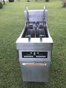 Frymaster Electric Deep Fryer Model H122blcsc 208 Volts 3phase Xtra Clean