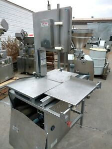 Hollymatic Hy16 Vertical Meat Saw Commercial Band Saw Butcher Used