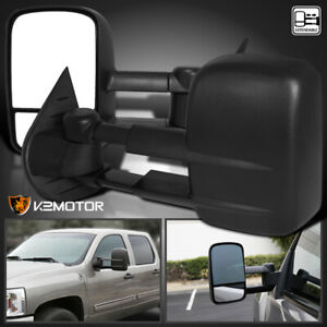 2007 2014 Chevy Silverado Sierra Tahoe Manual Extend Towing Mirrors Left Right