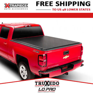 Truxedo Lo Pro Tonneau Cover Fit 14 18 Silverado 1500 6 6 Bed W o Sport Bar