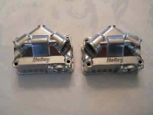 Holley Model 4150 4160 Double Pumper Primary Secondary Aluminum Fuel Bowls