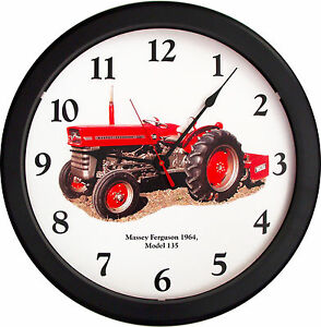 New Massey Ferguson Tractor Clock Model 135 Vintage 1964 Tractor Farmer Soil 14