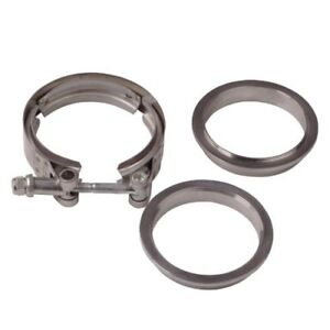 4 Inch 4 V Band Clamp 304 Stainless Steel For Flanges Exhaust Pipes Down Pipe