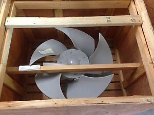New Industrial commercial Heavy Duty Exhaust Fan 34 W 1 5hp Teco Max e1 Motor
