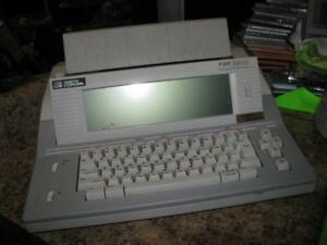 Smith Corona Pwp 3200 Word Processor Electronic Typewriter W Floppy Disk Drive