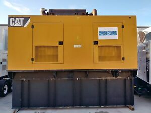 500 Kw Caterpillar C15 Generator Set 480v Tier 2 1800 Rpm