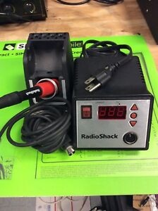 Radio Shack 70w Pro line Soldering Base Station W Soldering Handle