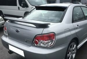 For 02 07 Subaru Impreza Wrx Sti Smoke Acrylic Rear Window Roof Visor Spoiler