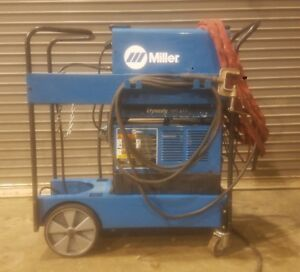 Miller Dynasty 300dx Tig Stick Welder With Cool mate 3 Cooler Very Clean
