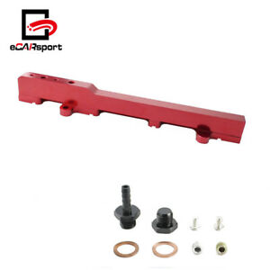 Fuel Rail Engineering Racing Kit For Honda Acura Rsx Integra Dc5 Type R K20 Red