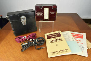 Vintage Biddle Megger Variable Voltage Midget Type Insulation Tester 500v 910841