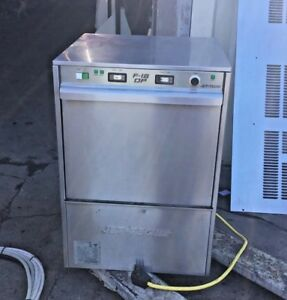 Jet tech Systems F 18 High Temp Dishwasher Commercial Dish Washing Machine Used