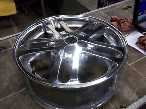 02 03 04 05 Chevy Cavalier Wheel 16x6 Aluminum 10 Spoke Chrome Opt Pfc