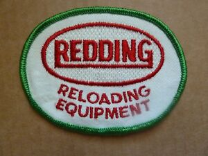 RARE Vintage REDDING Reloading Embroidered PATCH Ammo
