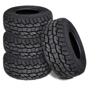 4 New Lexani Slayer At Plus 285 60r18 120s Xl All Terrain Tires
