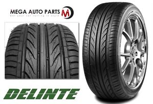 1 X Delinte Thunder D7 225 40r19 93w Xl All Weather Ultra High Performance Tires