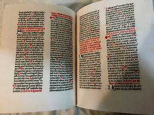 Thirty Six Line Bamberg Bible 1459 Ad Facsimile