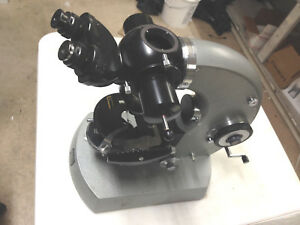 Carl Zeiss Photomicroscope Microscope No Lamp For Parts Or Repair