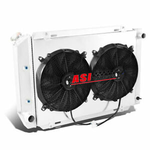 3 Row Radiator fan Shroud For 1971 1973 Ford Mustang Cougar 1969 1971 Torino