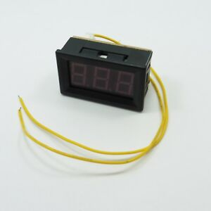 Ac 70v 300v 0 56 Voltmeter Digital Led Display Self Power Two Wires