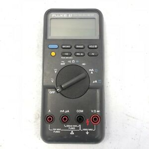 Fluke 87 True Rms Multimeter Series I Gray Tested Working