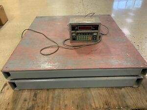 Industrial Floor Scale Thurman Scale Model 465