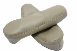 Seat Armrest Covers Synthetic Leather For 04 09 Nissan Quest Beige