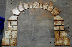 Markoff Tile Vintage Fireplace Surround