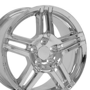 17x8 Wheels Fit Acura Tl Chrome Rims 71762 W1x Set