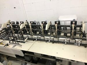 Mailcrafter 6 Station Swing Arm Inserter Rebuilt Early 2018