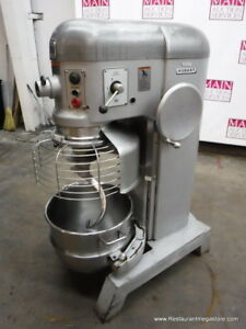 Hobart P 660 Pizza Dough Mixer 60 Quart With Bowl Hook 2 1 2 Horse Power