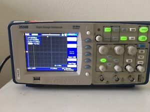 B k Precision Model 2530b Digital Storage Oscilloscope Bk Dso Power Tested