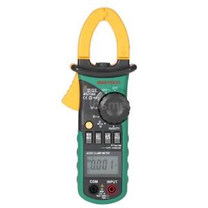 Mastech Ms2108a Digital Clamp Meter Multimeter Ac Dc Volt Amp Tester F8i7