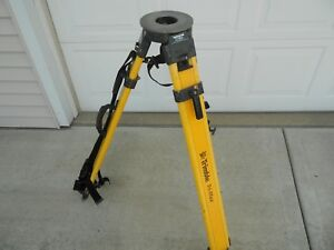 Trimble Crain Tri max Dual Lock Tripod For Topcon Leica Total Station